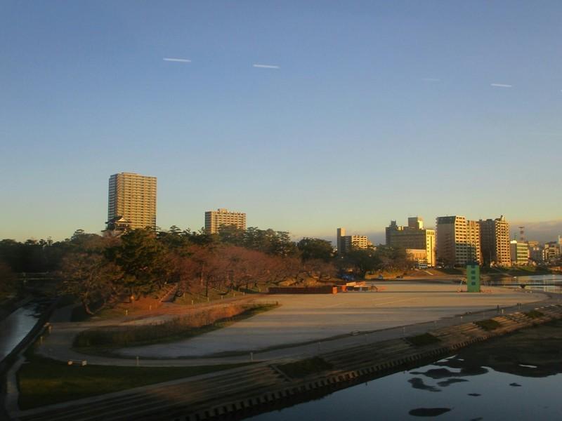 2018.12.14 (9) 豊橋いき特急 - 菅生川をわたる 1800-1350