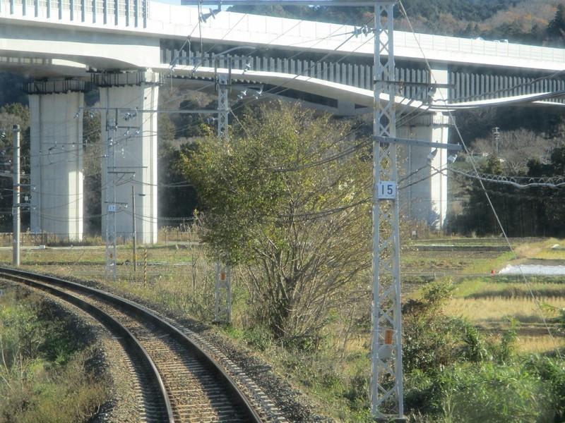 2018.12.14 (57) 天竜峡いきふつう - 鳥居長篠城間 1400-1050