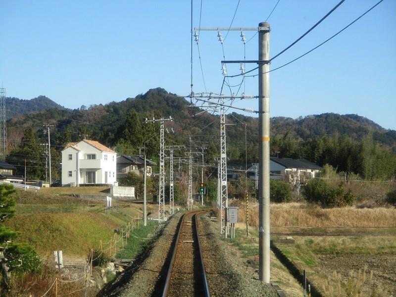 2018.12.14 (59) 天竜峡いきふつう - 長篠城本長篠間 2000-1500