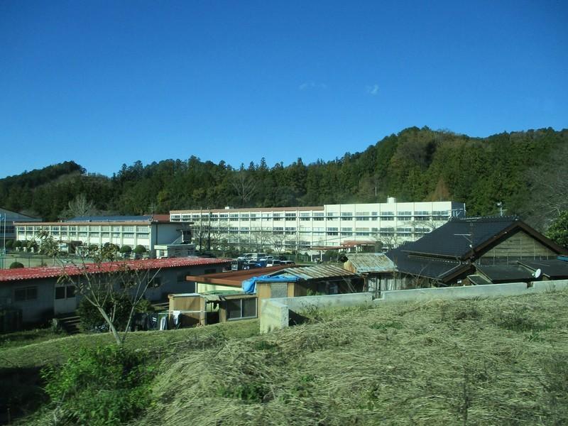 2018.12.14 (76) 田口いきバス - 鳳来中学校 2000-1500