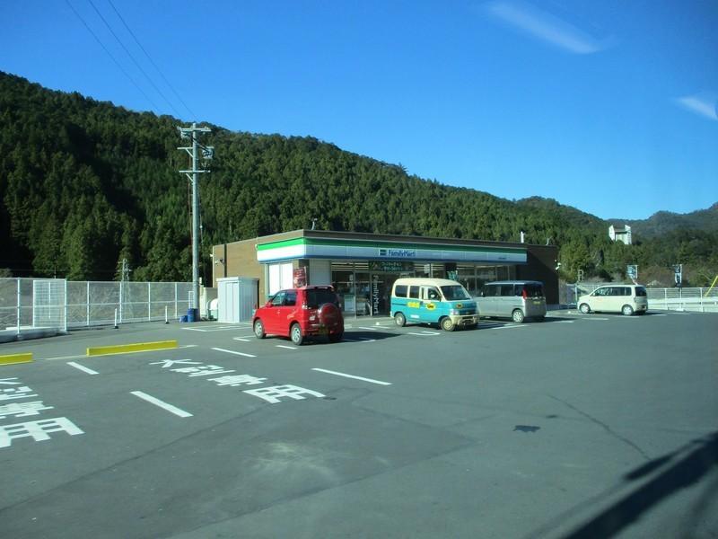 2018.12.14 (92) 田口いきバス - 学童農園前バス停てまえ(ファミリーマート) 1600-1200