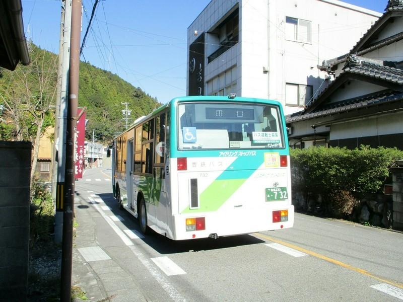 2018.12.14 (101) 海老バス停 - 田口いきバス 2000-1500