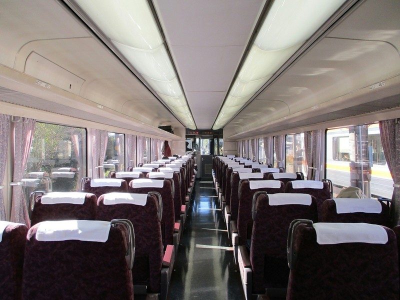 2018.12.14 (175) 豊橋いきワイドビュー伊那路2号 - 3号車(自由席) 1600-1200