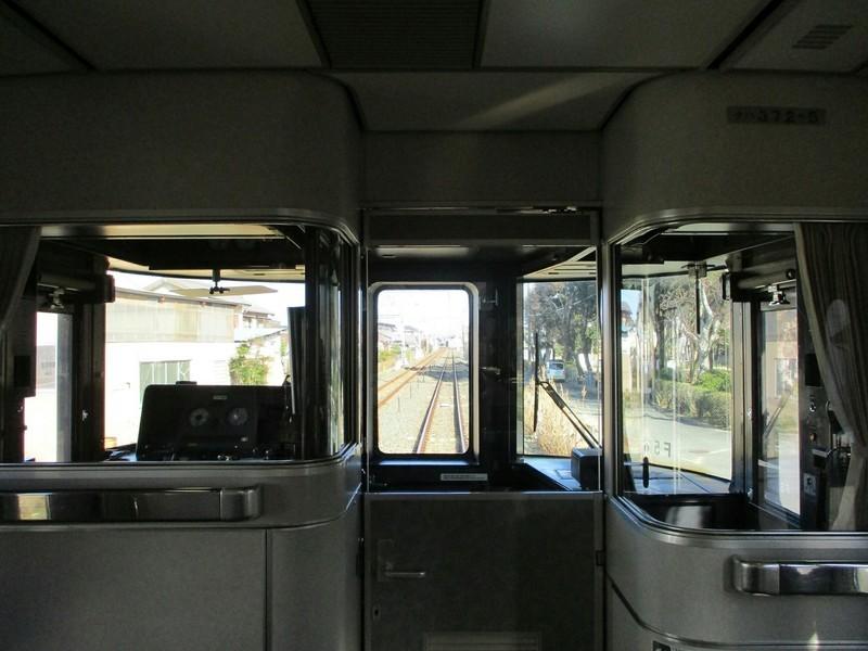 2018.12.14 (178) 豊橋いきワイドビュー伊那路2号 - 1号車(運転席) 1600-1200