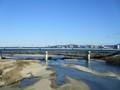 2019.1.3 (10) 豊橋いき急行 - 矢作川をわたる 2000-1500