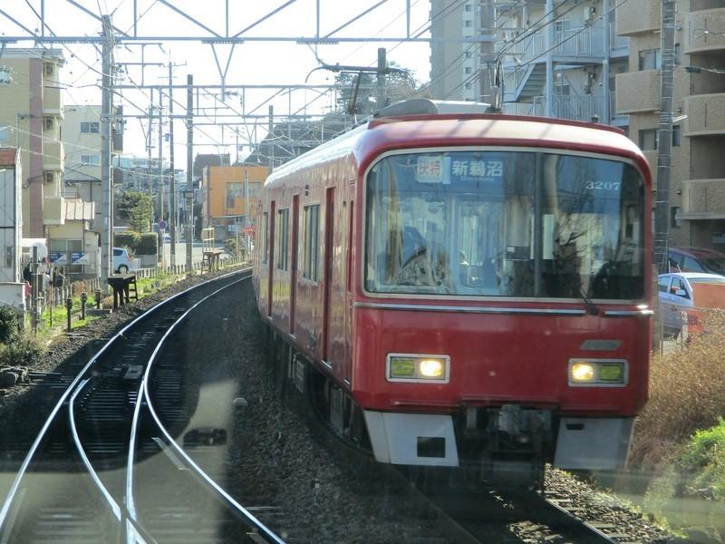 2019.1.3 (13) 豊橋いき急行 - 東岡崎すぎ(新鵜沼いき快速特急) 1600-1200