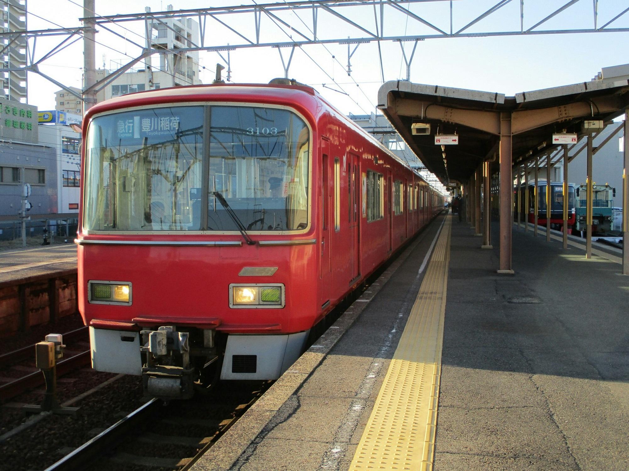 2019.1.4 (13) しんあんじょう - 豊川稲荷いき急行 2000-1500