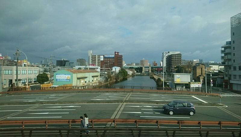 2019.1.5 (4) 岐阜いき特急 - 山王すぎ(松重閘門) 1820-1040
