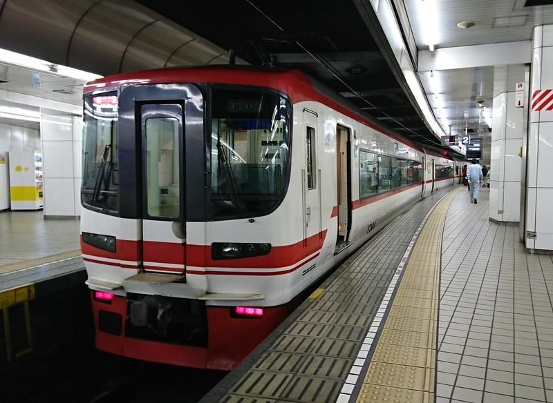 2019.1.5 (6) 名古屋 - 岐阜いき特急 1480-1080