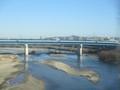 2019.1.7 (3) 豊橋いき特急 - 矢作川をわたる 1800-1350