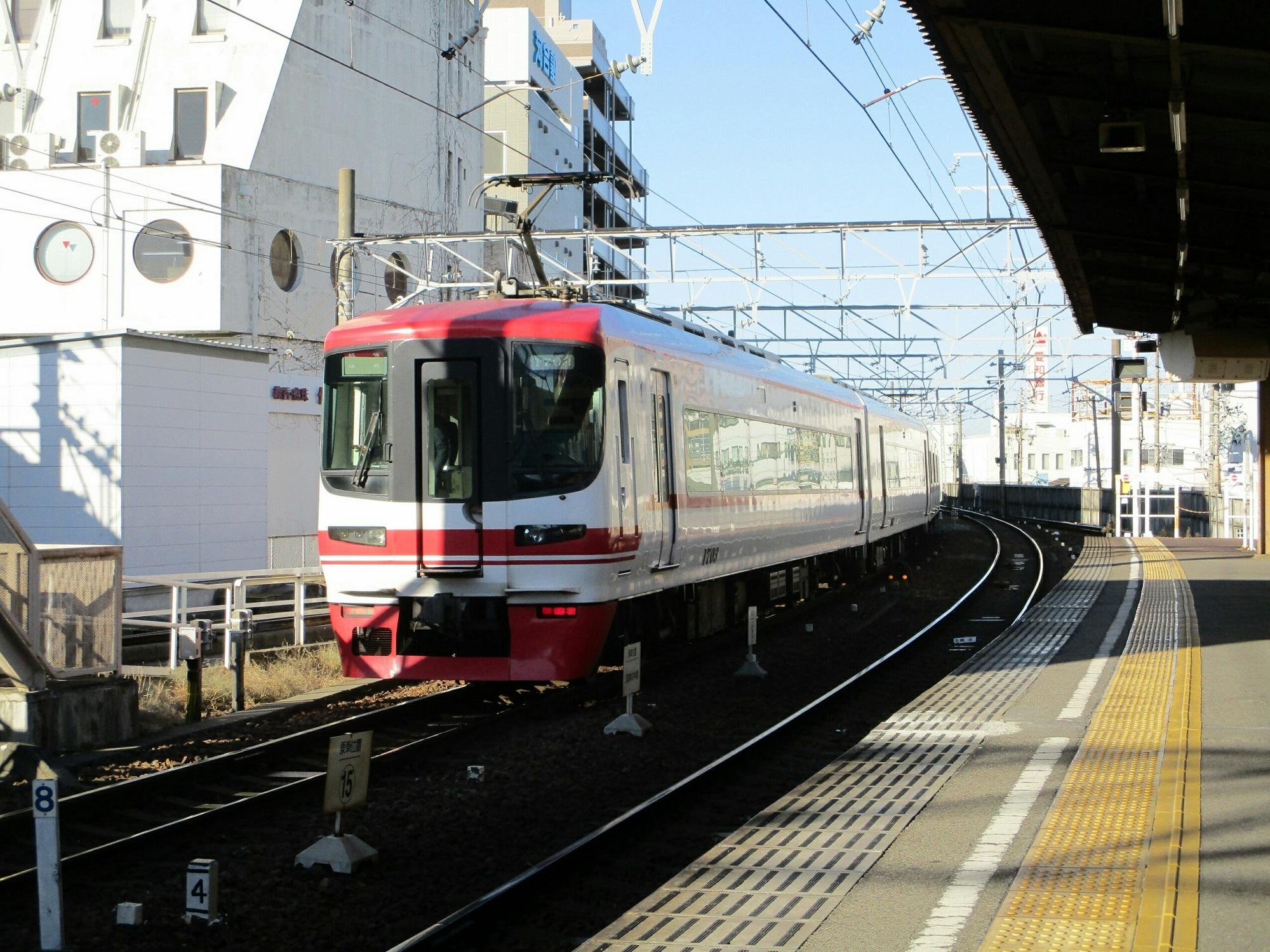 2019.1.7 (6) 東岡崎 - 岐阜いき特急 2000-1500