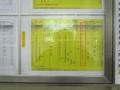 2019.1.7 (8) 東岡崎バスターミナル - 足助いき時刻表【土休】 2000-1500
