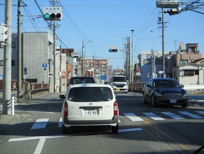 2019.1.7 (12) 足助いきバス - 伊賀川をわたる 1780-1350
