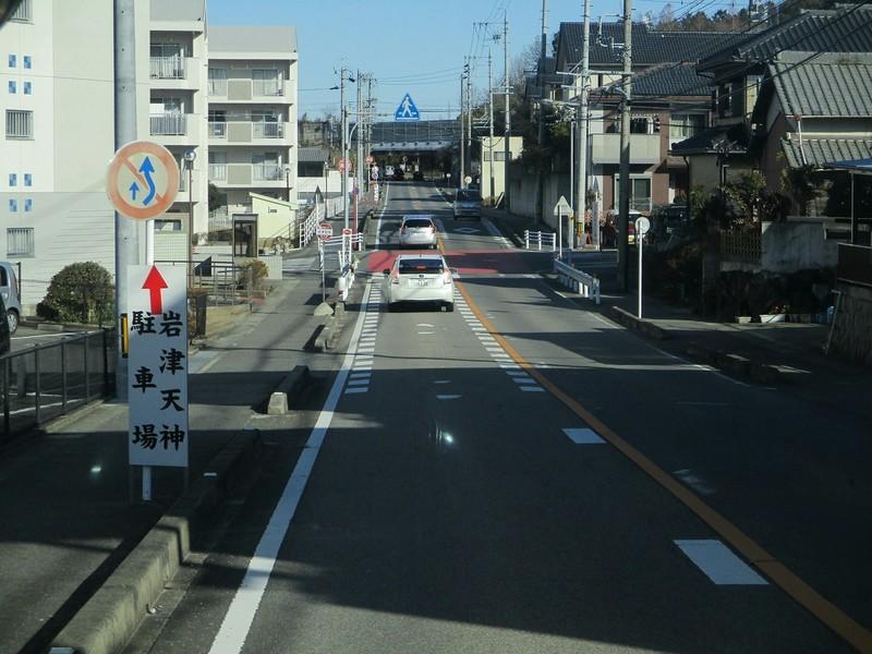 2019.1.7 (16) 足助いきバス - 岩津団地バス停 1600-1200