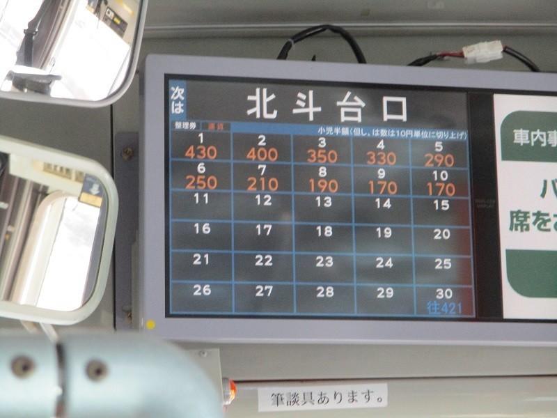 2019.1.7 (19) 足助いきバス - 北斗台口バス停 800-600