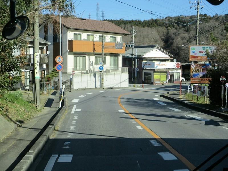 2019.1.7 (21) 足助いきバス - 門立バス停 1800-1350