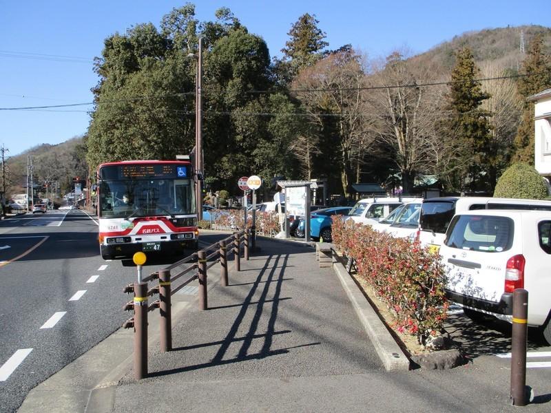 2019.1.7 (39) 香嵐渓バス停 - 足助いきバス 1800-1350