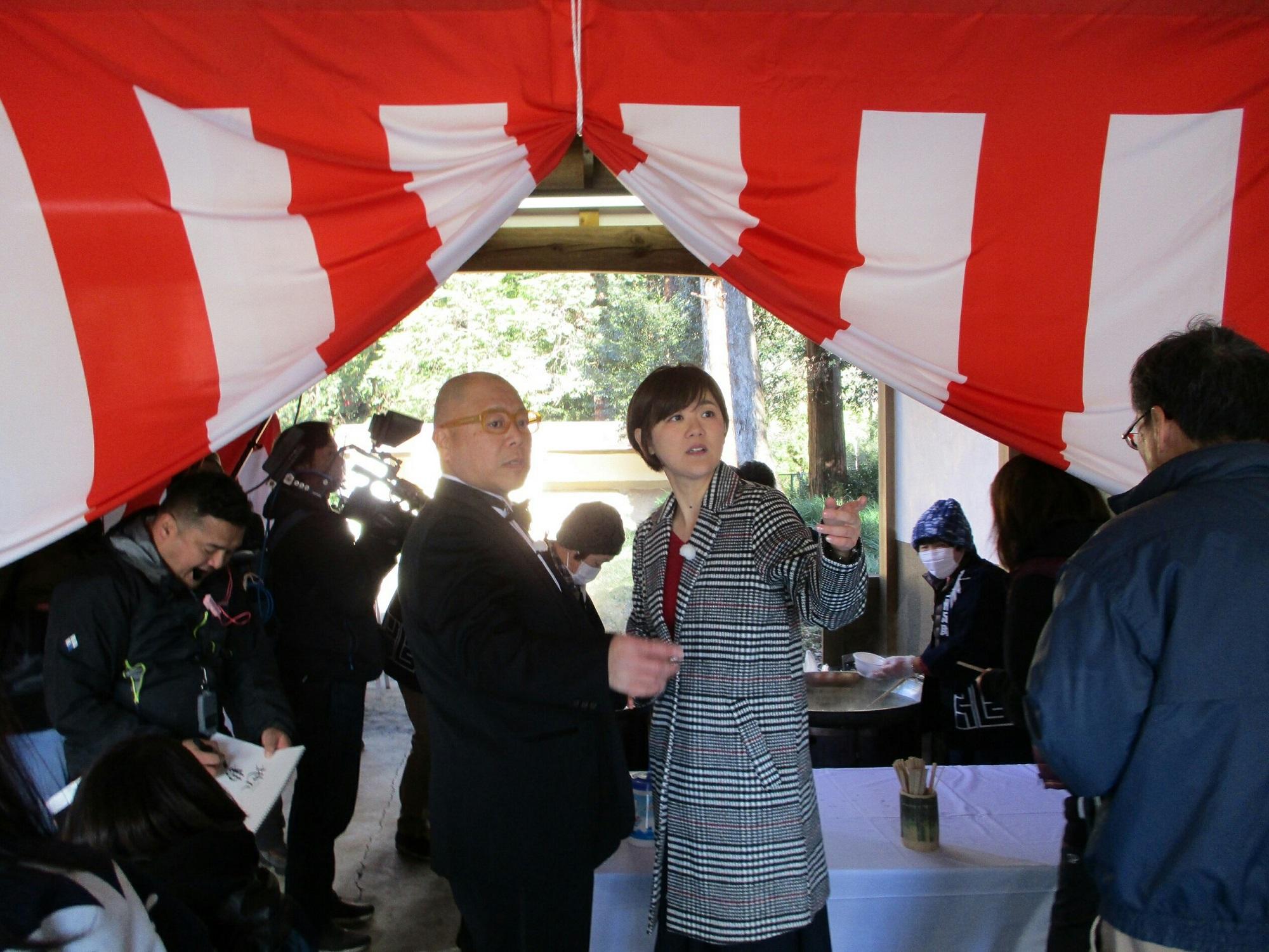 2019.1.7 (49) 足助八幡宮 - ななくさがゆのふるまい 2000-1500