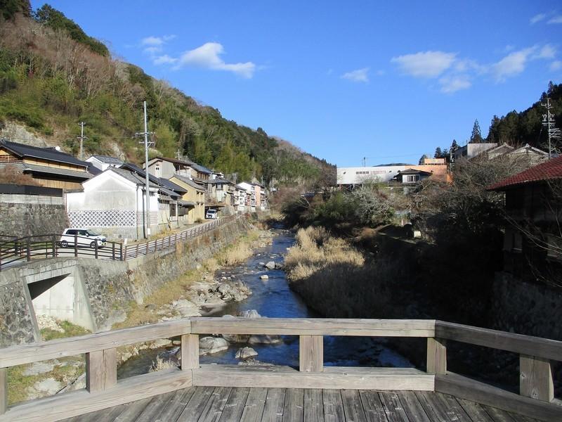 2019.1.7 (88) 足助のまちなみ - あゆみばし 1600-1200