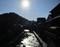 2019.1.7 (90) 足助のまちなみ - 真弓橋からしも 760-600