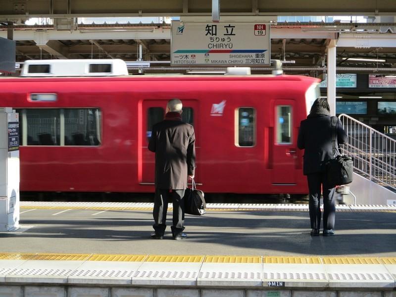 2019.1.9 (3) 知立 - 6番のりば回送 1600-1200