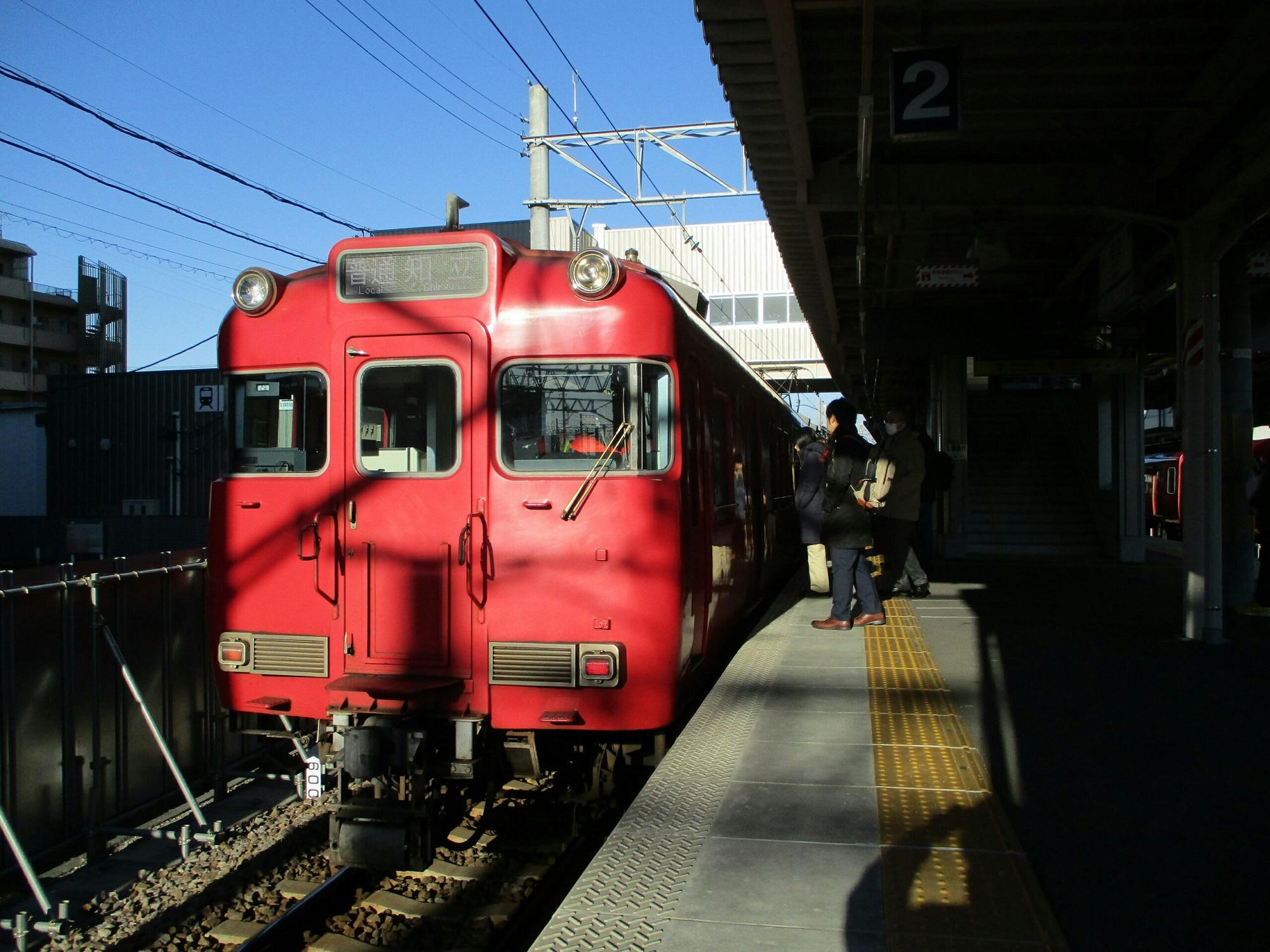 2019.1.9 (4) 知立 - 猿投いきふつう 2000-1500