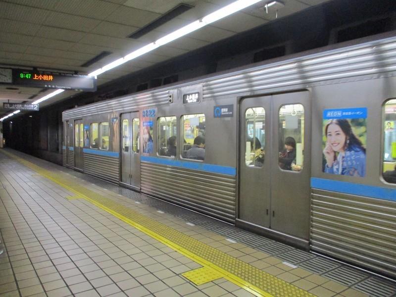 2019.1.9 (61) 平針 - 上小田井いきふつう 1400-1050