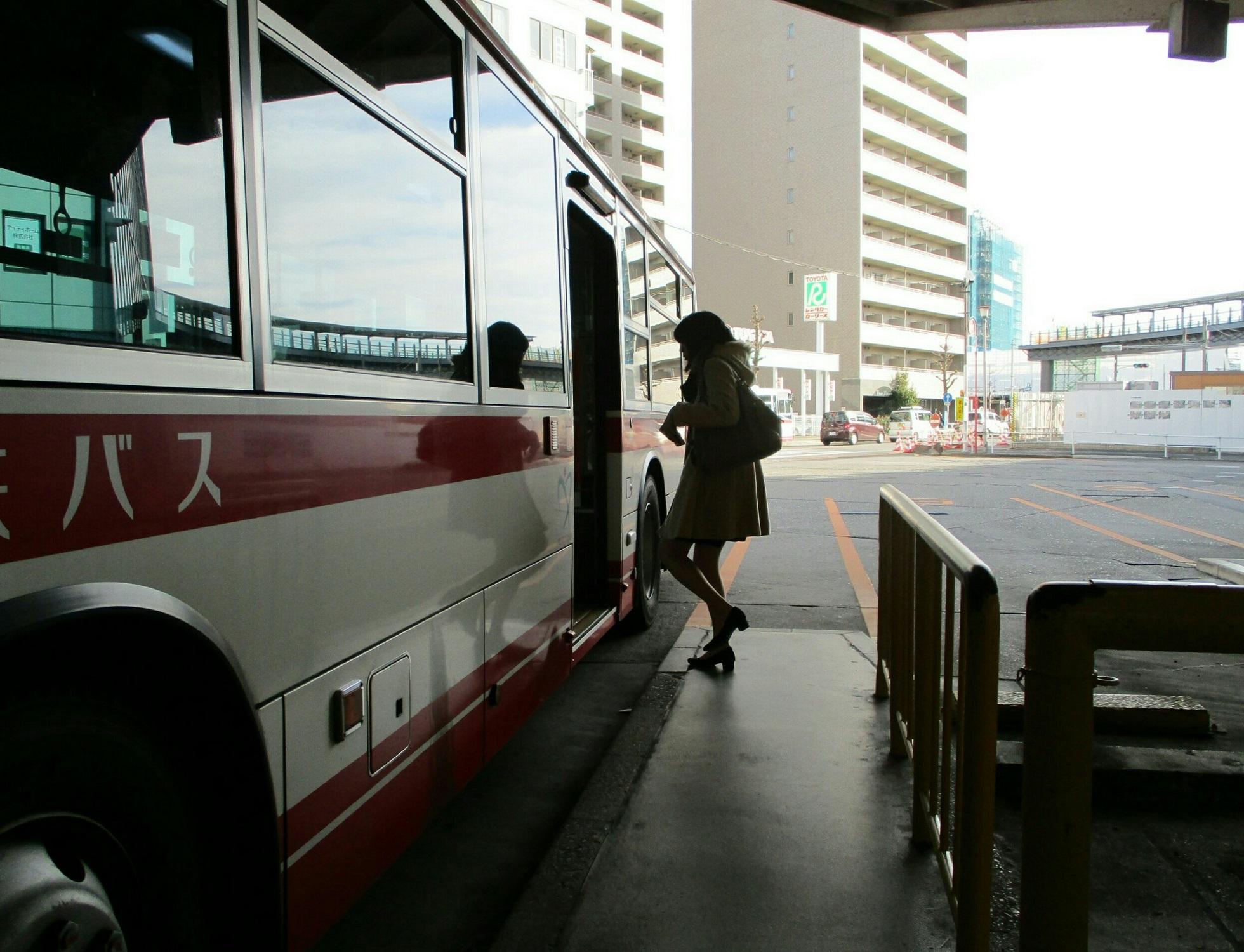 2019.1.11 (5) 東岡崎 - 足助いきバス 1960-1500