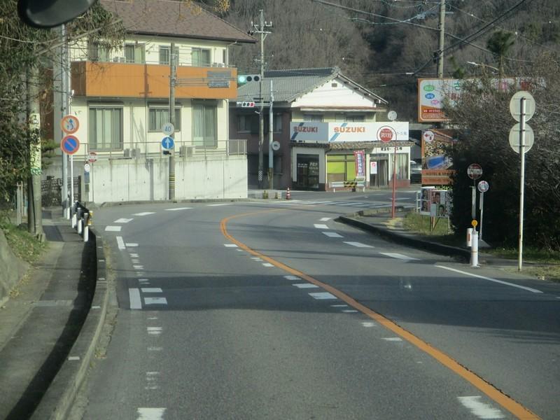 2019.1.11 (25) 足助いきバス - 門立バス停 2000-1500