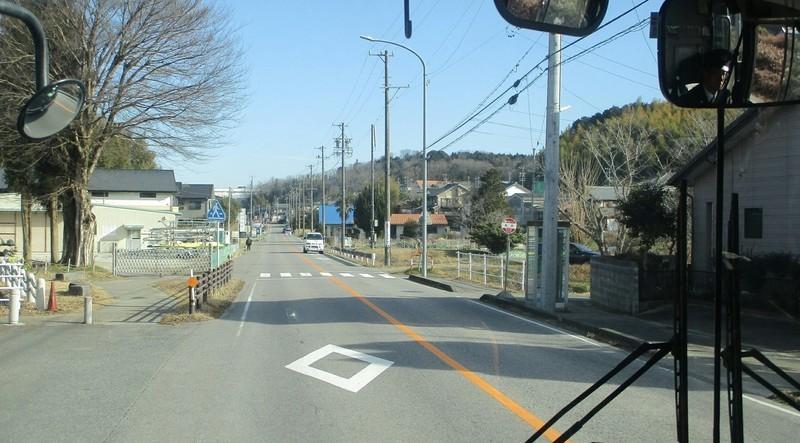 2019.1.11 (27) 足助いきバス - 桑原バス停 1590-880