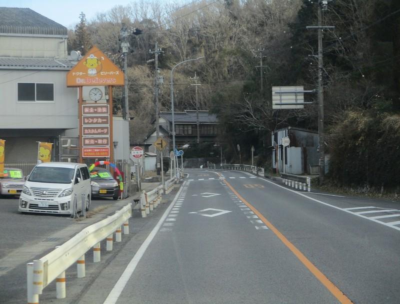 2019.1.11 (29) 足助いきバス - 中垣内バス停 1780-1350