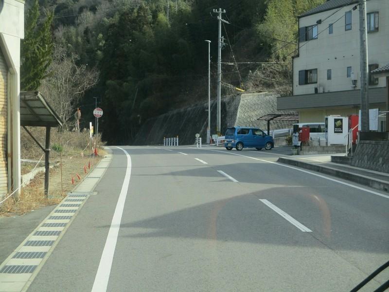 2019.1.11 (41) 足助いきバス - 王滝町バス停 2000-1500