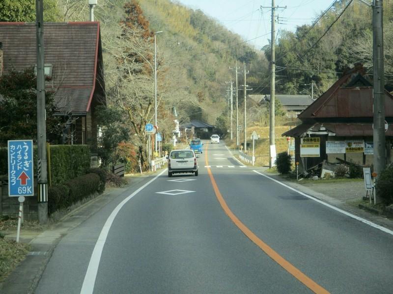 2019.1.11 (43) 足助いきバス - 大楠バス停 2000-1500