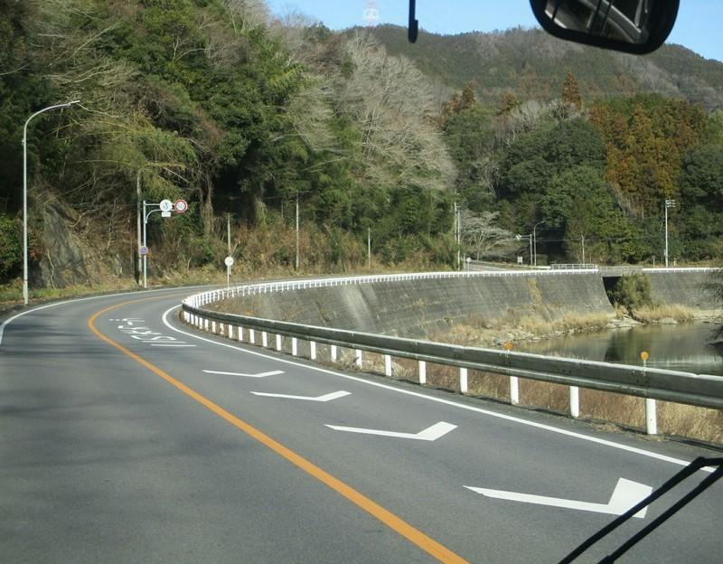 2019.1.11 (49) 足助いきバス - 則定大島間(巴川) 1730-1350