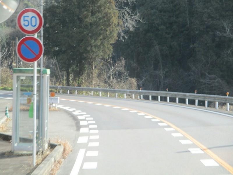 2019.1.11 (53) 足助いきバス - 田振下バス停 1000-750