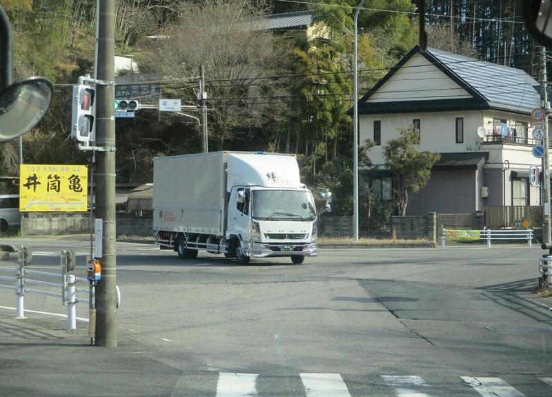 2019.1.11 (56) 足助いきバス - 追分交差点を右折 2000-1440