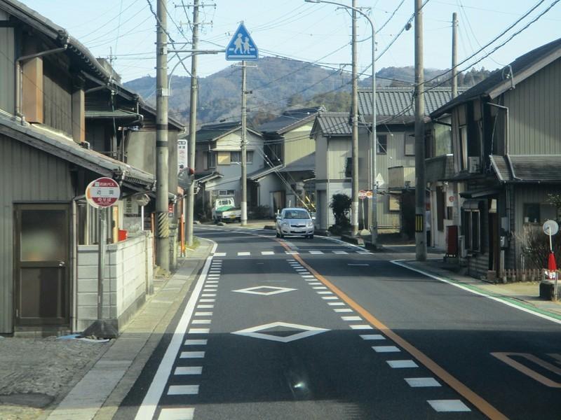 2019.1.11 (58) 足助いきバス - 近岡バス停 1600-1200