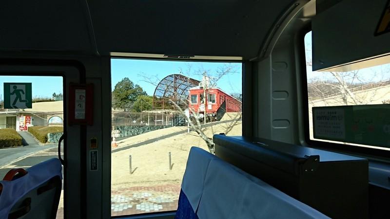 2019.1.11 おいでん (18) 豊田市いきバス - 鞍ヶ池公園の電車 1440-810