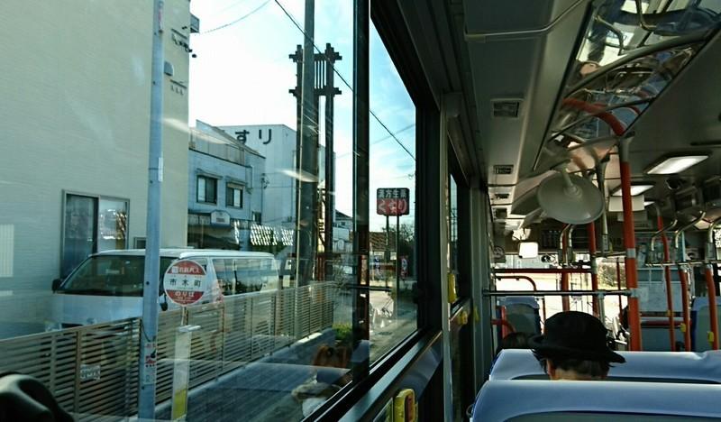 2019.1.11 おいでん (27) 豊田市いきバス - 市木町バス停 1230-720
