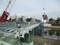 2019.1.15 (12) 乙川人道橋 - 鋼板をおろす 2000-1500