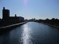 2019.1.16 (37) 熱田記念橋から堀川をみる(しも) 1600-1200