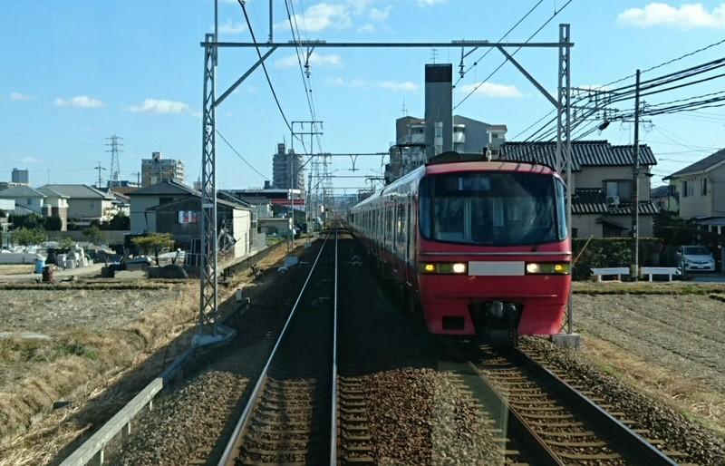 2019.1.18 (9) 東岡崎いきふつう - 宇頭矢作橋間(岐阜いき特急) 1120-720