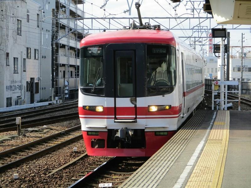 2019.1.21 (9) 東岡崎 - 豊橋いき快速特急 2000-1500