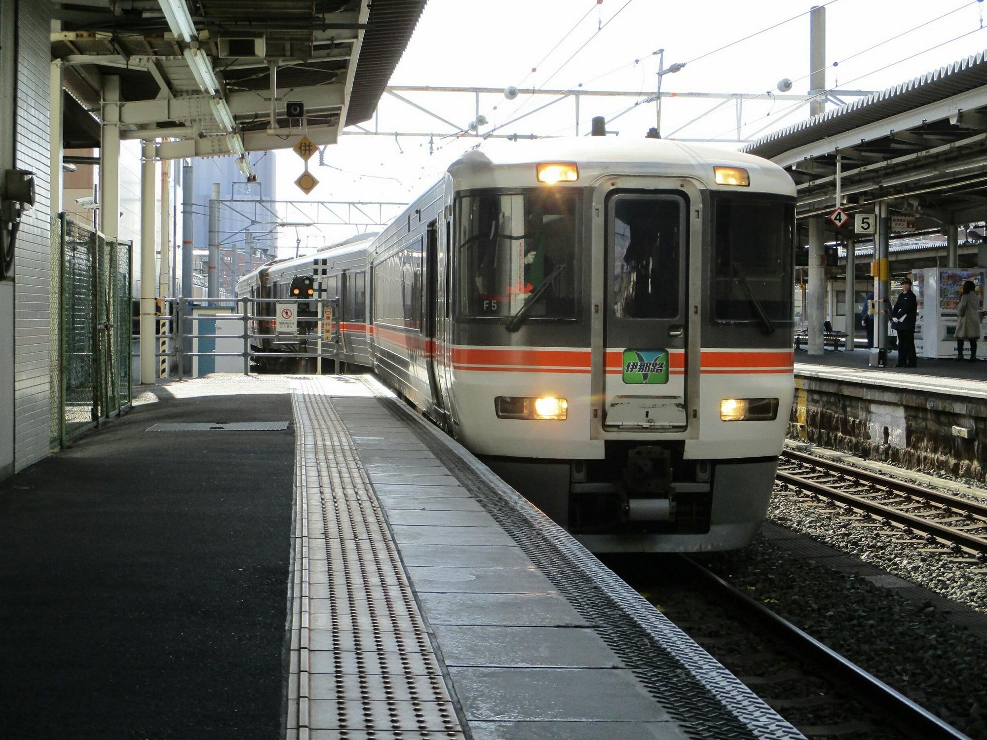 2019.1.24 (2) 豊橋 - 飯田いき特急伊那路 2000-1500