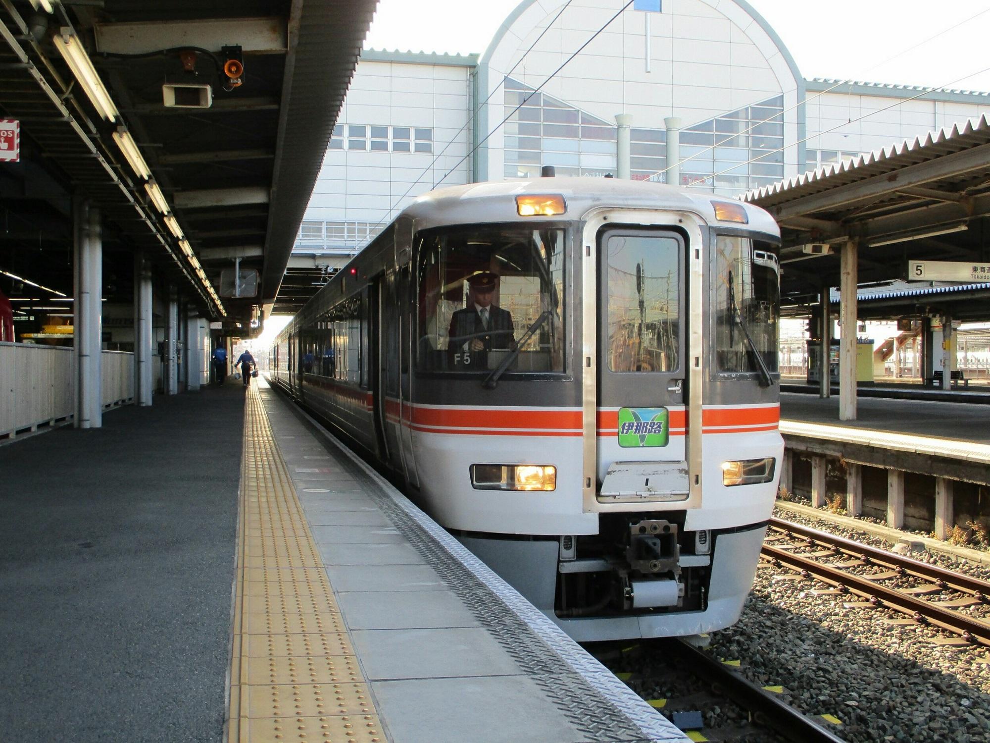 2019.1.24 (4) 豊橋 - 飯田いき特急伊那路 2000-1500