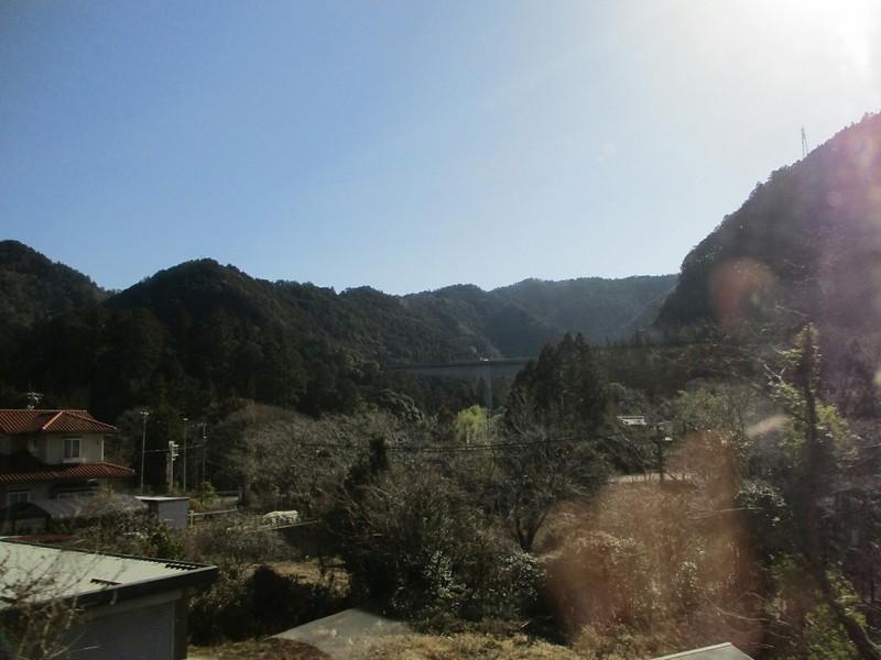 2019.1.24 (52) 飯田いき特急伊那路 - 柿平三河川合間 1400-1050