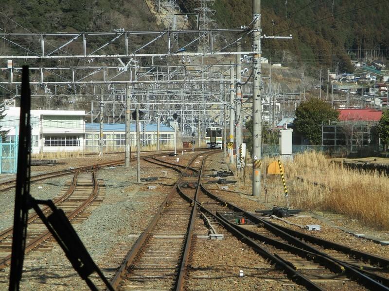 2019.1.24 (72) 飯田いき特急伊那路 - 中部天竜しゅっぱつ 2000-1500