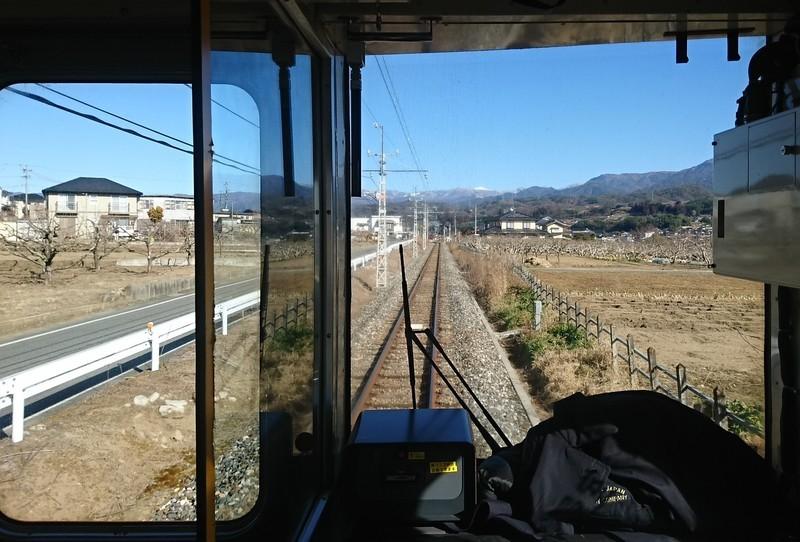2019.1.24 (167) 茅野いきふつう - 下市田市田間 1460-990