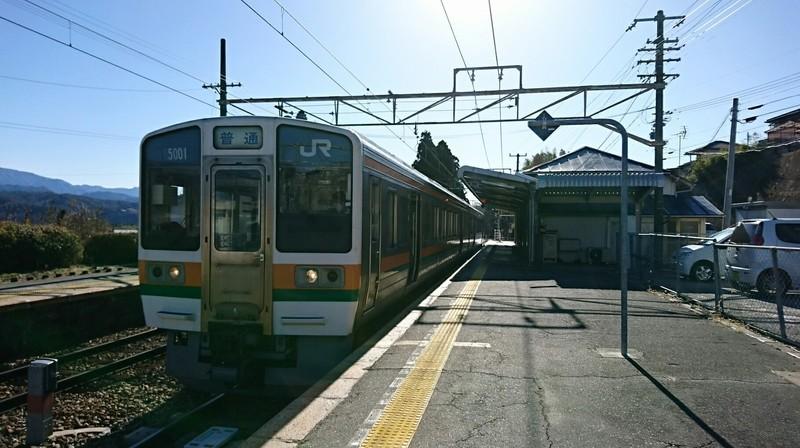 2019.1.24 (178) 伊那大島 - 茅野いきふつう 1820-1020