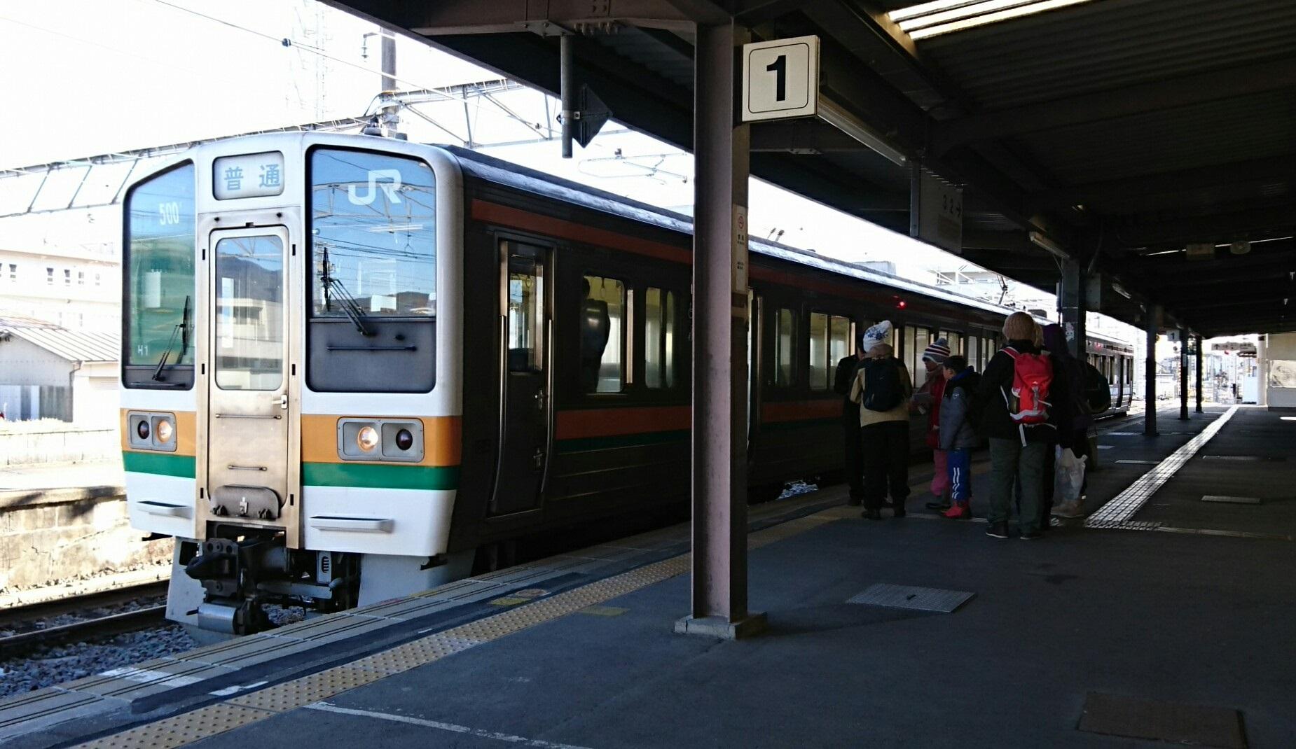 2019.1.24 (219) 駒ヶ根 - 茅野いきふつう 1850-1070